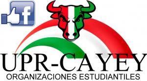 Arte representativo del Facebook de las Organizaciones Estudiantiles de UPR Cayey