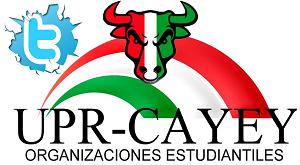 Arte representativo del Twitter de las Organizaciones Estudiantiles de UPR Cayey