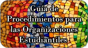 Imagen representativa al enlace para la Guía de Procedimientos para las Organizaciones Estudiantiles
