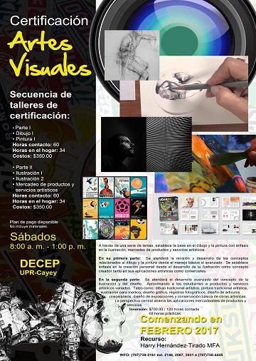 Imagen de la promoción Certificación Artes Visuales