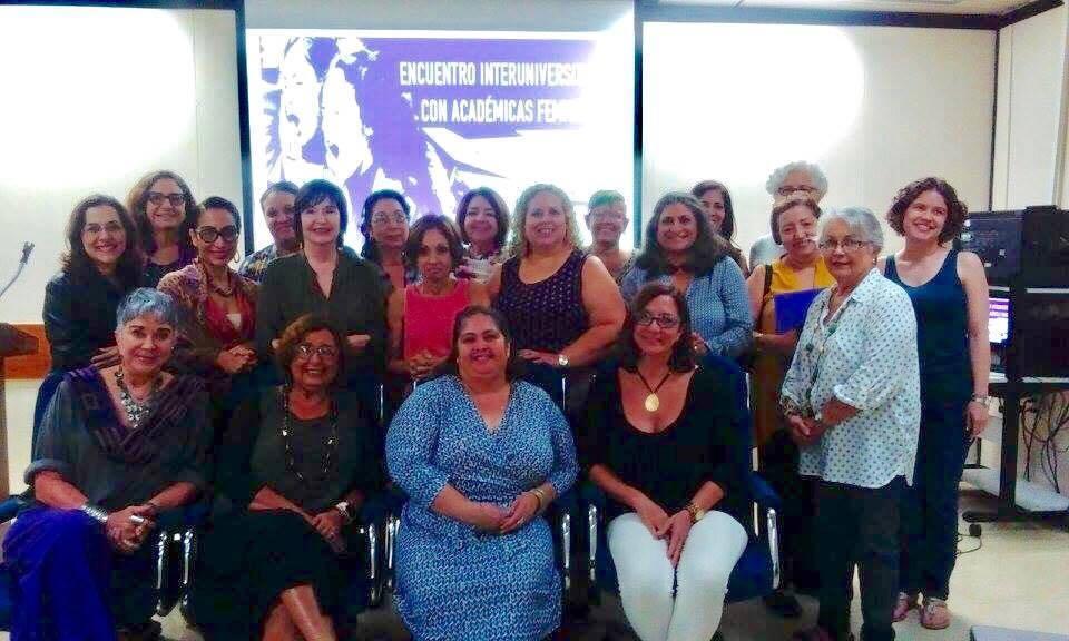 Foto de actividad Feministas Academicas Encuentro