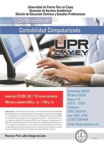 Imagen de promoción al certificacion en contabilidad computarizada