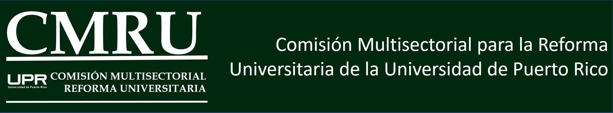 Banner para la página de CMRU