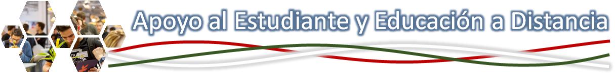Banner que lleva a información sobre Apoyo al Estudiante y Educación a Distancia
