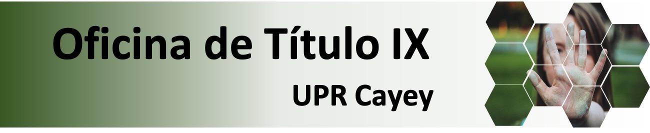 Imagen del Banner Titulo IX