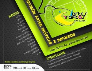 Imagen promoción Oficina Artes Graficas