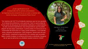 Semblanzas Tutores y Mentores CAETV Graduados Clase 2020 UPR Cayey  14 