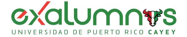Imagen del banner de exalumnos UPR Cayey