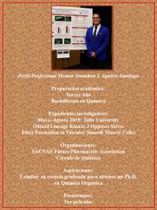 Imagen de Diseño Perfil Profesional Jonathan Aguirre Mentor CAETV UPR Cayey Agosto 2020
