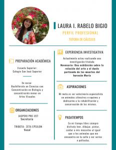 Imagen de Diseño Perfil Profesional Laura Rabelo Tutora CAETV UPR Cayey Agosto 2020