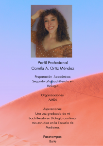 Imagen del Perfil Profesional Camila Ortiz