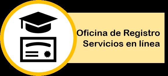 Imagen de boton para acceder a servicios en línea de Registro