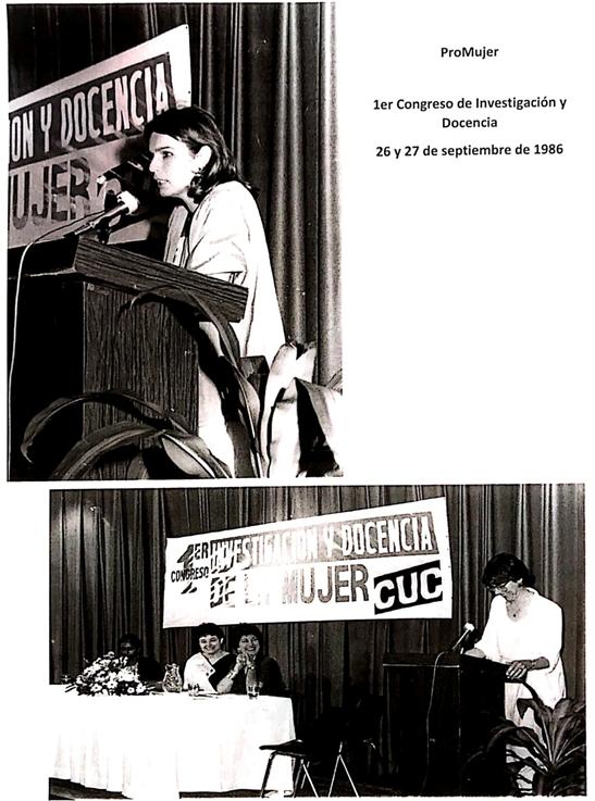 Imagen del Primer Congreso de Investigación y Docencia ProMujer