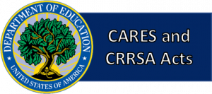 Imagen botón para acceder a la información de CARES and CRRSA Acts