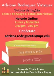 Imagen publicidad-adriana-rodriguez-vazquez-tutora-ingles-caetv-virtual-upr-cayey-enero-2021