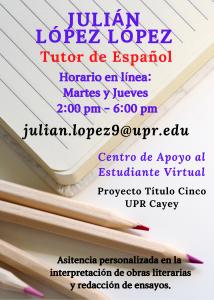 Imagen publicidad-julian-lopez-lopez-tutor-caetv-virtual-upr-cayey-enero-2021