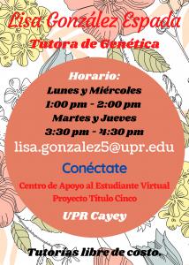 Imagen publicidad-lisa-gonzalez-espada-tutora-genetica-caetv-virtual-upr-cayey-enero-2021