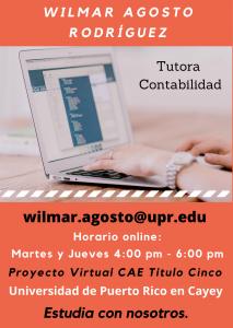 Imagen publicidad-wilmar-agosto-rodriguez-tutora-contabilidad-ii-caetv-virtual-upr-cayey-enero-2021