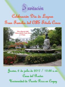 Imange CAETV Invitación Almuerzo Dia de Logros 2017 6-jul-17