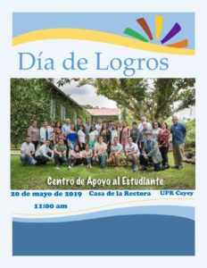 Imagen Invitación Día de Logros CAETV Mayo 2019