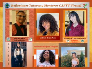 Imagen Reflexiones Tutores y Mentores CAETV Virtual #1