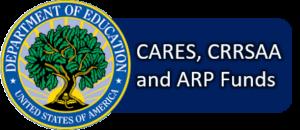 Imagen de Botton para acceder a CARES, CRRSAAand ARP Funds
