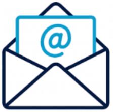 Imagen de icono representativo al email