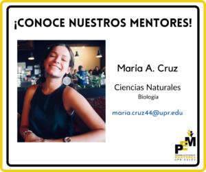 Foto de María A. Cruz