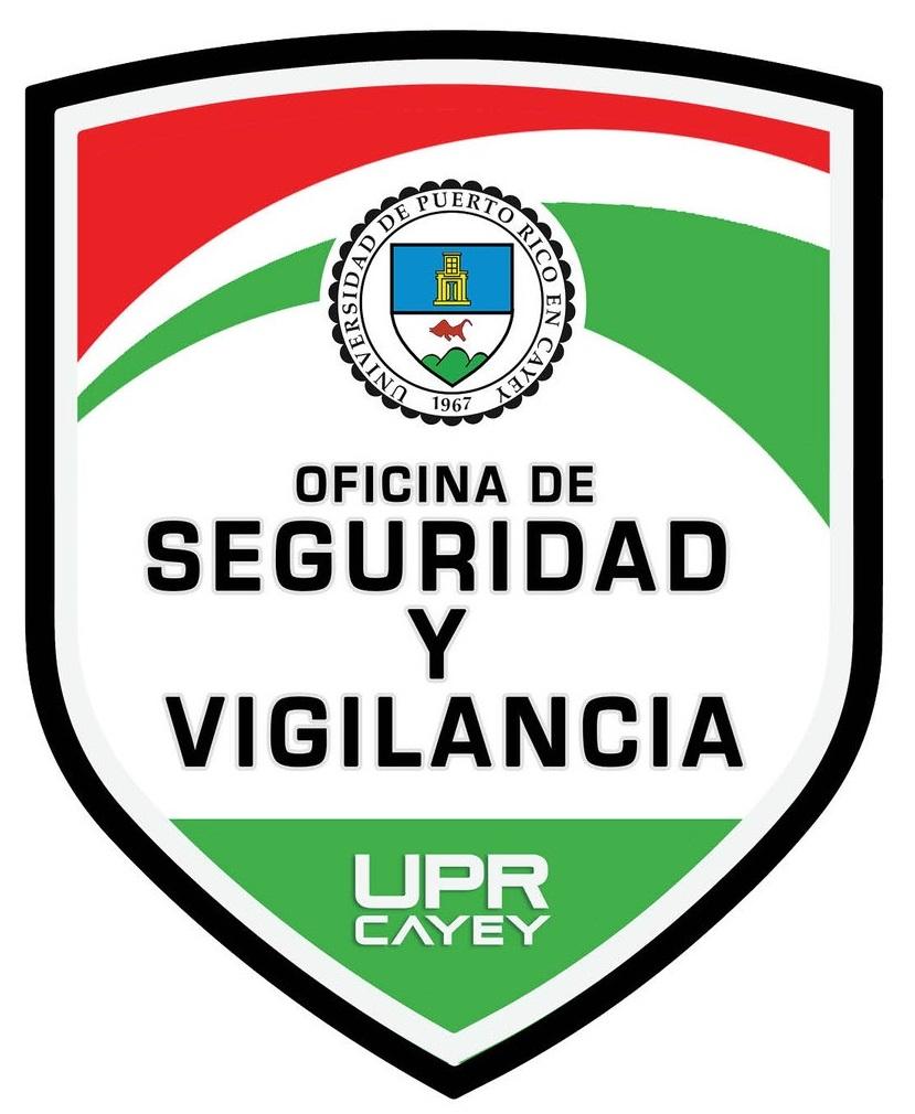 Imagen de logo de la Oficina Seguridad y Vigilancia